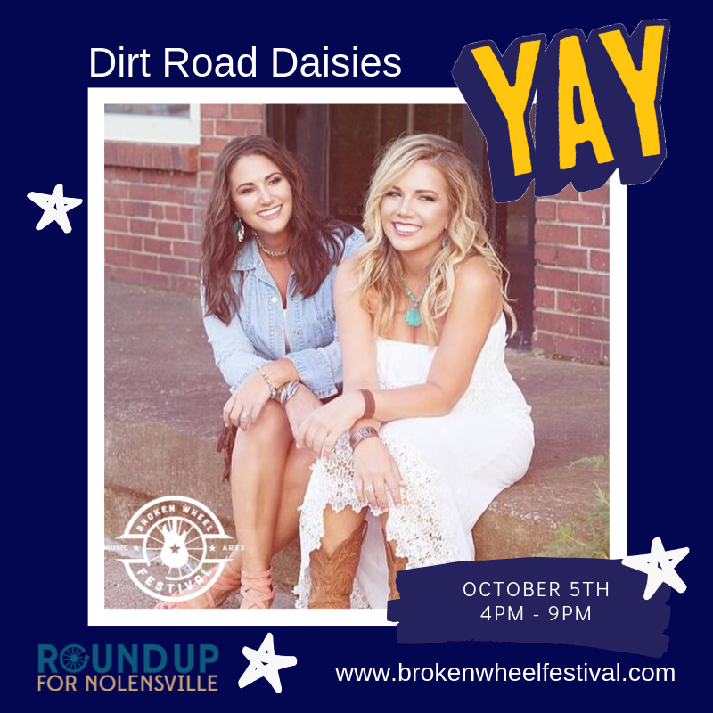 Dirt Road Daisies Animated Post